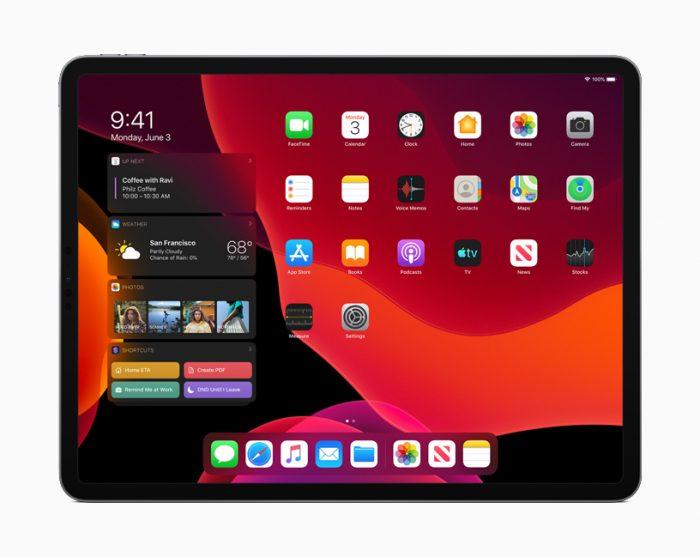 iPadOS13