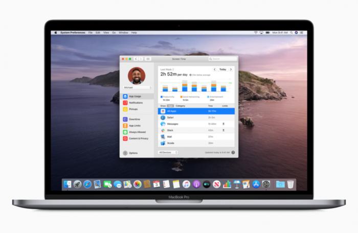 macOS10.15CatalinaScreenTime